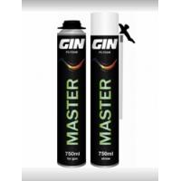 Монтажная пена MASTER GIN Бытовая; под пистолет