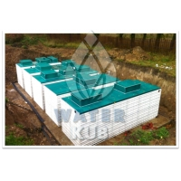 Установка очистки хозяйственно-бытовых сточных вод  WK-SEW 100 м3/сут.