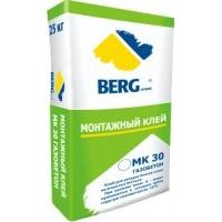 Клей монтажный Berghome МК30 газобетон зимний