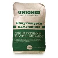 Штукатурка цементная UNION-MIX FASAD