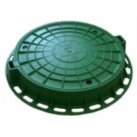 Люк пластиковый зеленый/черный Aquastok 800х120