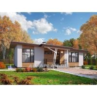 Одноэтажный дом, проект одноэтажного дома, одноэтажная Россия Альфаплан 1012A