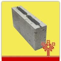 Блок керамзитобетонный перегородочный 390*90*188 мм  КСР-ПР-ПС-39-50-1050