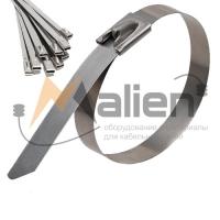 Стальные кабельные стяжки из нержавеющей стали AISI 304 Малиен Стальные кабельные стяжки из нержавеющей стали AISI 304