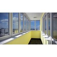 Остекление балконов и лоджий: оперативный монтаж