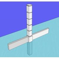 Бетонные столбы (евростолбы) для заборов