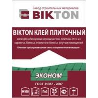 Клей плиточный БИКТОН Эконом 25 кг
