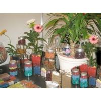 Керамзит и щебень декоративные окрашенные