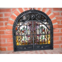 Дверь каминная с двумя створками 650*720 мм Все для общепита