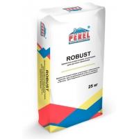 Цементно-известковая штукатурка для ручного нанесения Perel ROBUST 0515