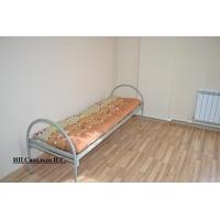 Кровати металлические эконом 1-ярусные для больниц, хостелов