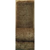 Маты из базальтового волокна на металлической сетке