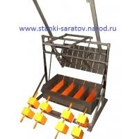 Вибропресс  Команч-12 универсал  для производства блоков