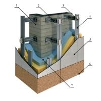 система навесного вентилируемого фасада Альт-Фасад 01 Альт-Фасад