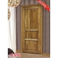 """Межкомнатные двери из массива Дуба СильверДорс """"Клеопатра"""" - простая отделка"""