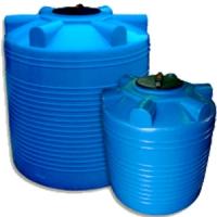Емкости для воды  Вертикальная емкость пластиковая