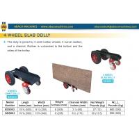 Трехколесная тележка для ручного перемещения каменных плит Abacomachines GD/SD 3 WHEELS SLAB DOLLY