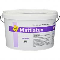 дисперсионная влагостойкая краска MATTLATEX Derufa