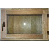 окна в сауну из дуба  400ммХ600мм