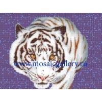 """Мозаичное панно  """"Белый тигр"""""""