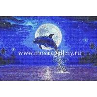 """Мозаичное панно  """"Парящий дельфин"""""""