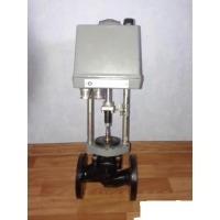 Клапан запорно-регулирующий ду32 ру16 с электроприводом  25ч945п