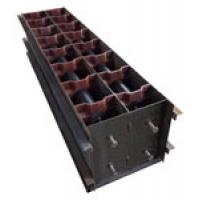 Формы для производства пазогребневых пеноблоков серии BETTREX
