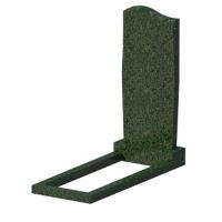 Памятник из зеленого гранита № 10 800*400*50 Студия Камня