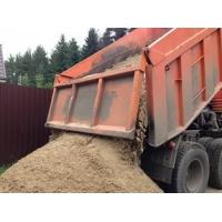 Песок строительный, гравий с доставкой