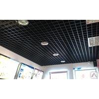Подвесной потолок Грильято белый/матовый 100*100*40