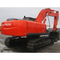Гусеничный экскаватор бу 2008 год ковш скальный новая ходовая ча Hitachi zx330-3
