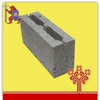 Блок керамзитобетонный перегородочный 390*120*188 мм.  КСР-ПР-ПС-39-50-1050