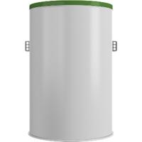 Пластиковый кессон диаметр 960, высота 1500мм.