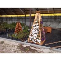 Садовая горка из Сибирской Лиственницы