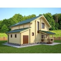 Дом из бруса «Анастасия»