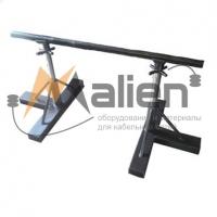 Домкрат кабельный винтовой ДКВ-1,5К, тип - кабельные козлы, до 1