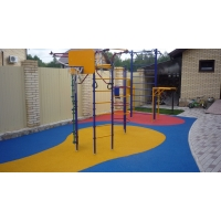 Резиновое покрытие для детской площадки ЭкоПолис