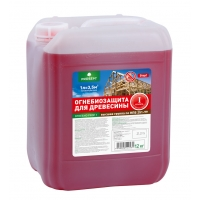Огнебиозащита для древесины 1 группа PROSEPT тонированная(красный) 5л