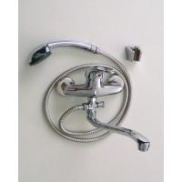 Смеситель в ванную длин. нос шаровый 40 мм STELS 7308