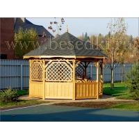 Беседка садовая деревянная, незаменимая беседка для дачи! Малая Архитектура ООО Беседка Б-7