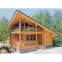 Деревянный дом из Ангарской сосны и лиственницы  № 002
