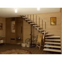 """Лестница на второй этаж СлавДвор """"Мечта"""""""