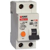 Автоматический выключатель дифференциального тока АВДТ-63 6А EKF Electrotechinca
