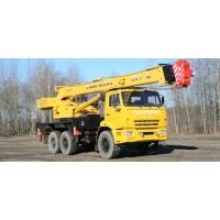 Автокран 25 тонн вездеход Галичанин КС 55713-5