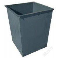 Металлический бак для отходов 0.75 м3.
