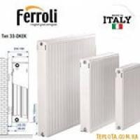 Стальные панельные радиаторы отопления Ferroli тип 22