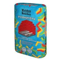 Сухие смеси WEISBAU (Вайсбау Высокопрочный наливной цементный пол  РОВНИТЕЛЬ 25 кг