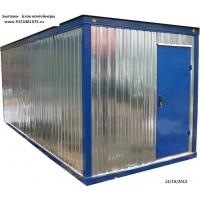 Бытовки, блок контейнеры, строительные вагончики, модульные здан RealTransHaus Стандарт БК -1(без тамбура)
