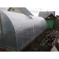 Теплица арочного типа из сотового поликарбоната 3м*10м стандарт  Надежная