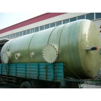 Емкость топливная  стеклопластиковая 2м3 D-1000мм, H-2100мм